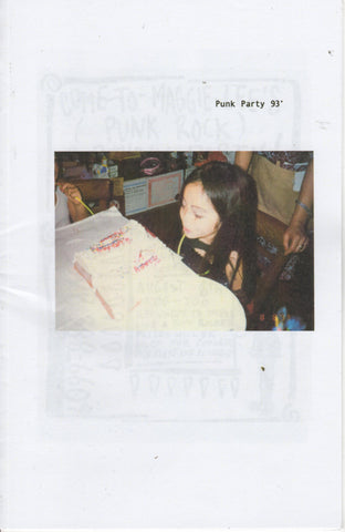 Maggie Lee: Punk Party 93' zine