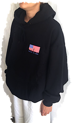 Faux/Real: MAD(E) IN USA HOODIE