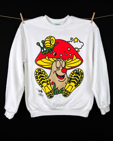 Online Ceramics: Mascot by Mushroom House Sweatshirt