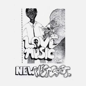 SFV Acid: Love Music / New West Coast 12""