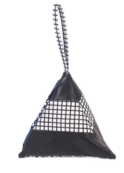 Slow and Steady Wins the Race: Striped Pyramid Bag