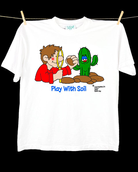 Online Ceramics: Play With Soil Shirt