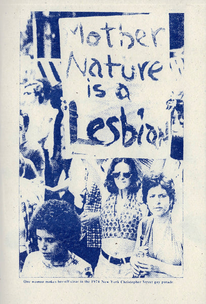 The nature of lesbian history