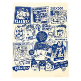 Seth Bogart: Blue Grrrls Do Everything Better Print