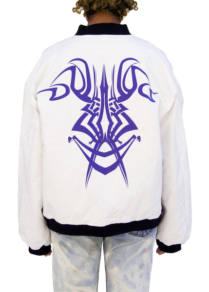 Capsule: Anime/Rave Shield Bomber Jacket
