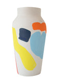 Cassie Griffin: Ceramic Vase, Multi-Color Shapes