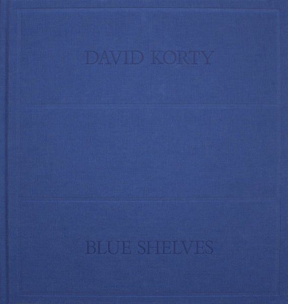 David Korty: Blue Shelves