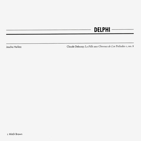 Mitch Brown & Kima: Delphi 1