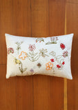 Run Home: Floral Baby Pillow