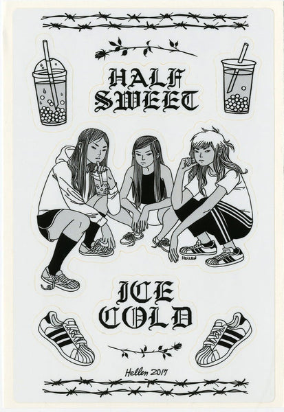 Hellen Jo: Half Sweet Ice Cold Stickers