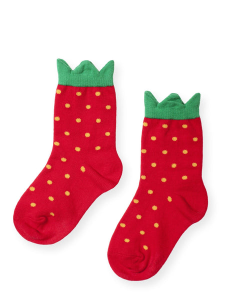 Hansel From Basel: Kids' Mini Strawberry Crew Sock