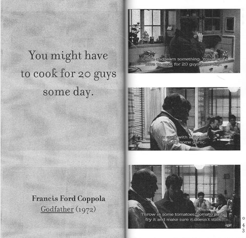 Hato Press: Cooking With Scorsese Vol. 2