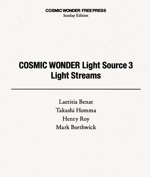 Cosmic Wonder: Cosmic Wonder Free Press – Sunday Edition