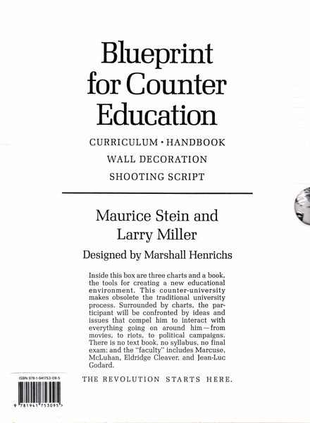 Maurice R. Stein & Larry Miller: Blueprint for Counter Education