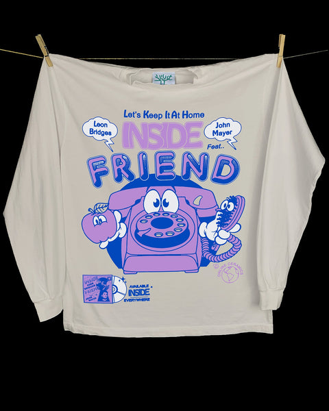Online Ceramics: Inside Friend Longsleeve T-Shirt