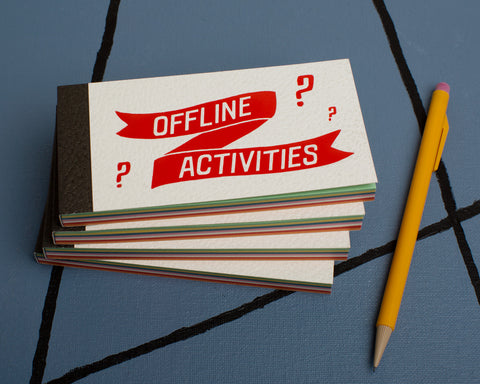 Tamara Shopsin & Jason Fulford: Offline Activities