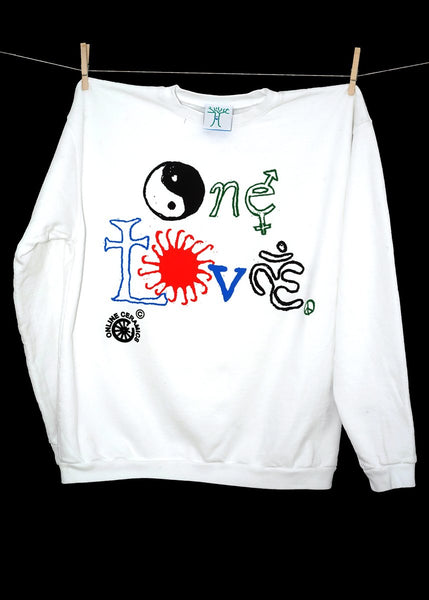 One Love Crewneck Sweatshirt