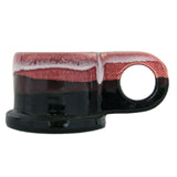 Peter Shire: Espresso Mug, Red with Black