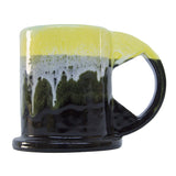 Peter Shire: Large Mug, Green with Black