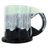Peter Shire: Large Mug, Mint with Black