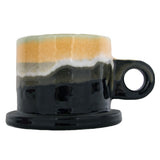 Peter Shire: Medium Mug, Green with Black