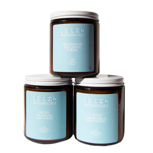 Zizia Botanicals: Herbal Powders
