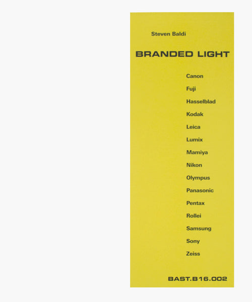 Steven Baldi: Branded Light