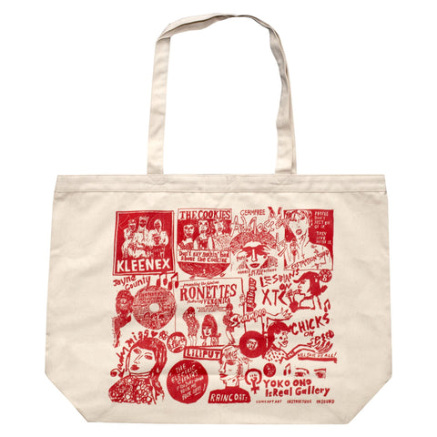 Wacky Wacko: Anti-Sexist Noise Jumbo Tote Bag