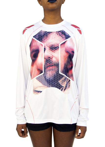 DISown: Slavoj Žižek Tech Fit, White with Pink