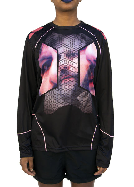 DISown: Slavoj Žižek Tech Fit, Black with Pink