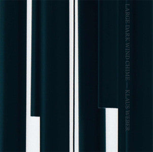 Klaus Weber: Large Dark Wind Chime 12""