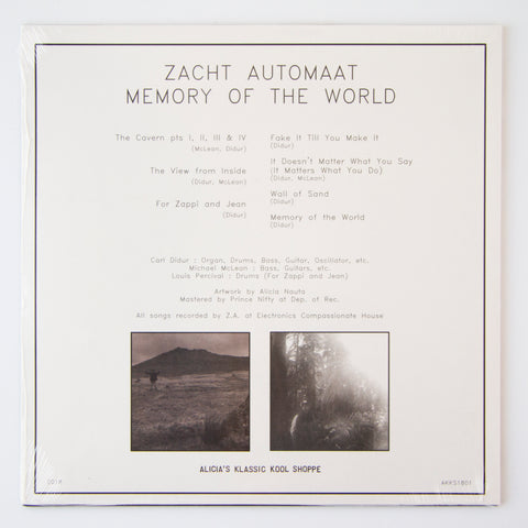 Zacht Automat: Memory of the World