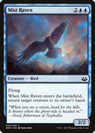 Mist Raven [Modern Masters 2017] | The Guild in the Grove