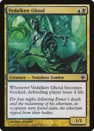 Vedalken Ghoul [Alara Reborn] | The Guild in the Grove