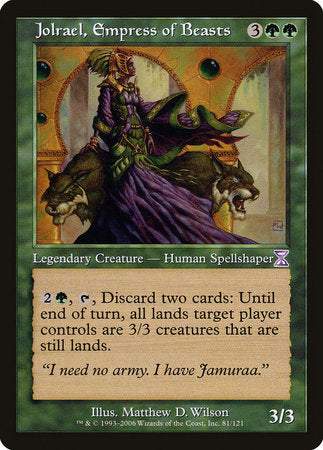 Jolrael, Empress of Beasts [Time Spiral Timeshifted] | The Guild in the Grove