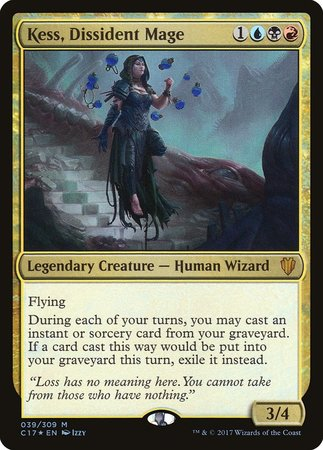 Kess, Dissident Mage [Commander 2017] | The Guild in the Grove