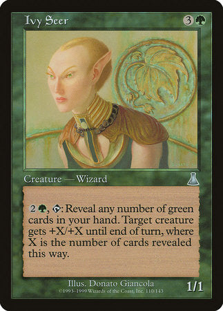 Ivy Seer [Urza's Destiny] | The Guild in the Grove