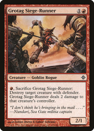 Grotag Siege-Runner [Rise of the Eldrazi] | The Guild in the Grove
