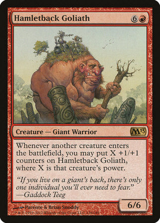 Hamletback Goliath [Magic 2013] | The Guild in the Grove