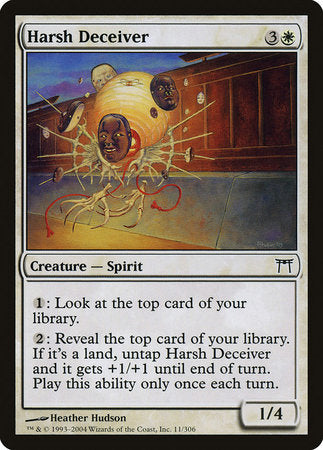 Harsh Deceiver [Champions of Kamigawa] | The Guild in the Grove