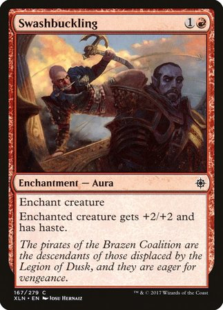 Swashbuckling [Ixalan] | The Guild in the Grove