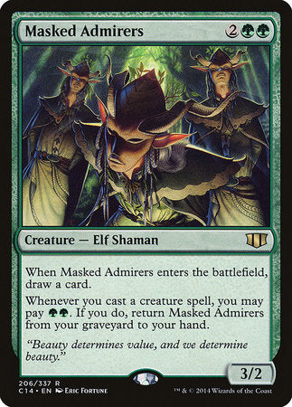 Masked Admirers [Commander 2014] | The Guild in the Grove