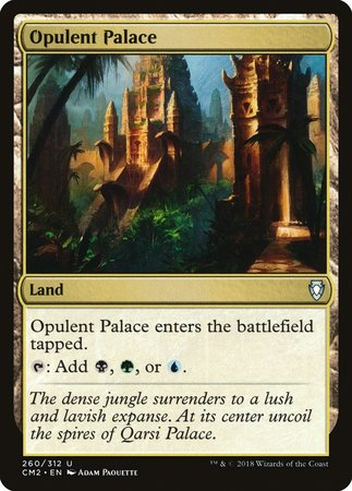 Opulent Palace [Commander Anthology Volume II] | The Guild in the Grove