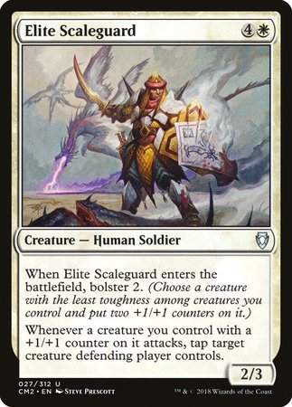 Elite Scaleguard [Commander Anthology Volume II] | The Guild in the Grove