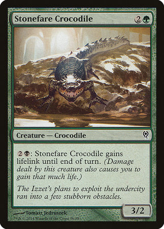 Stonefare Crocodile [Duel Decks: Jace vs. Vraska] | The Guild in the Grove