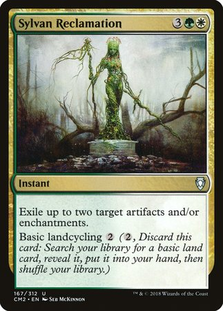 Sylvan Reclamation [Commander Anthology Volume II] | The Guild in the Grove