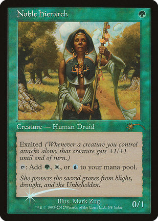 Noble Hierarch [Judge Gift Cards 2012] | The Guild in the Grove