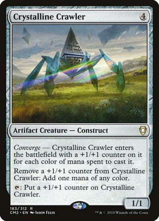 Crystalline Crawler [Commander Anthology Volume II] | The Guild in the Grove