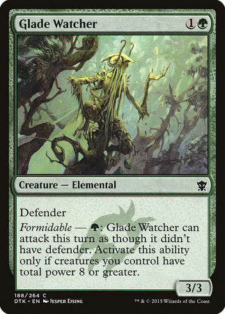 Glade Watcher [Dragons of Tarkir] | The Guild in the Grove
