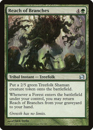 Reach of Branches [Modern Masters] | The Guild in the Grove